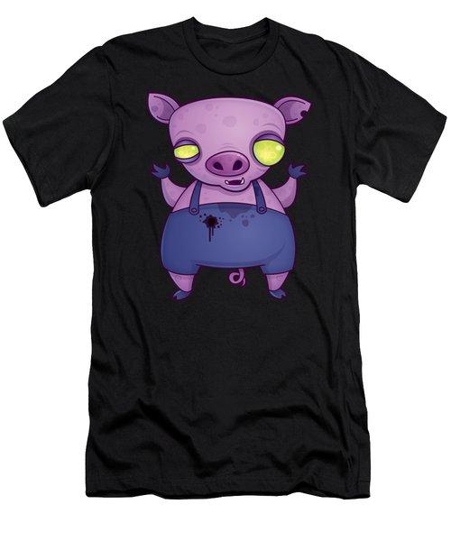 Zombie Pig Men's T-Shirt (Athletic Fit)