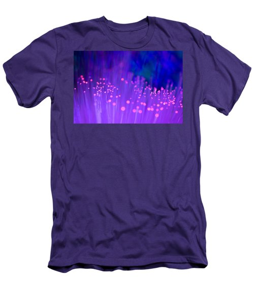 Men's T-Shirt (Slim Fit) featuring the photograph Electric Ladyland by Dazzle Zazz