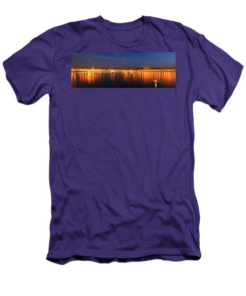 Men's T-Shirt (Slim Fit) featuring the photograph San Sebastian 26 by Mariusz Czajkowski