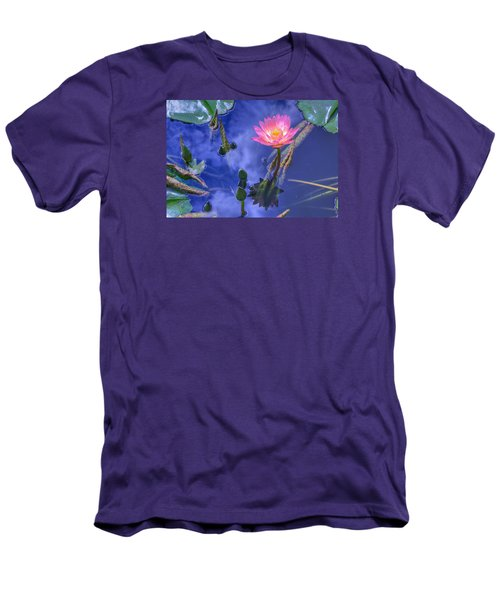Flower 7 Men's T-Shirt (Athletic Fit)