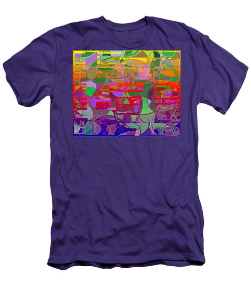 1021 Abstract Thought Men's T-Shirt (Athletic Fit)