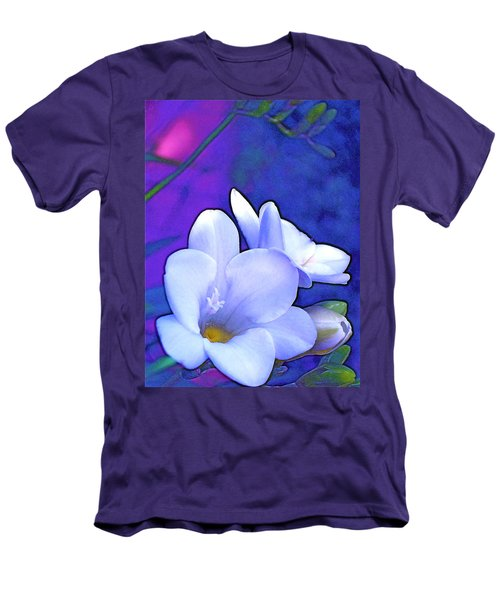 Color 4 Men's T-Shirt (Slim Fit) by Pamela Cooper