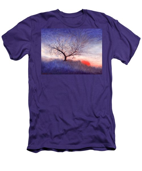 A Wintering Tree Men's T-Shirt (Athletic Fit)