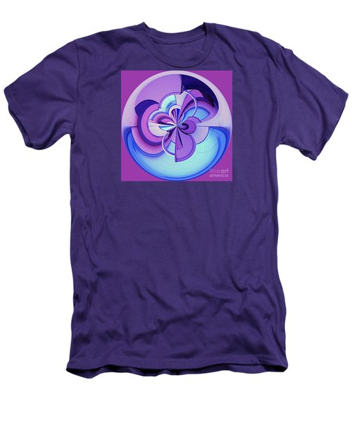Men's T-Shirt (Slim Fit) featuring the photograph Abstract Circle Squared by Chris Anderson