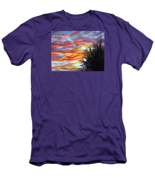 After The Storm Men's T-Shirt (Slim Fit) by LaVonne Hand
