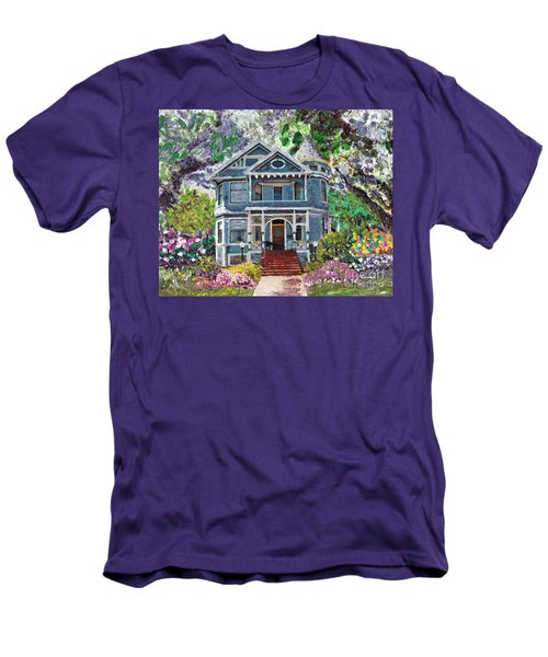 Alameda 1890 Queen Anne Men's T-Shirt (Athletic Fit)