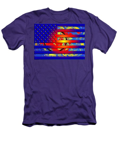 And The Flag Still Stands Men's T-Shirt (Athletic Fit)