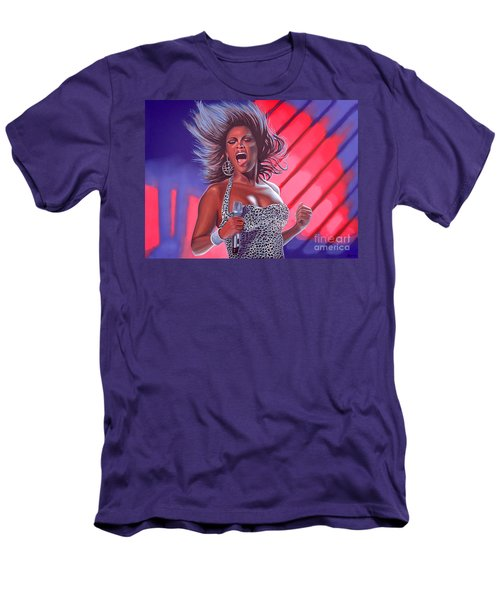 Beyonce Men's T-Shirt (Slim Fit) by Paul Meijering