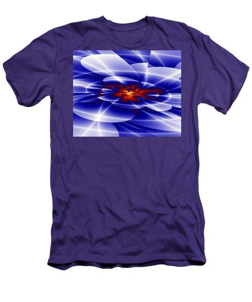 Blue Men's T-Shirt (Slim Fit) by Hai Pham