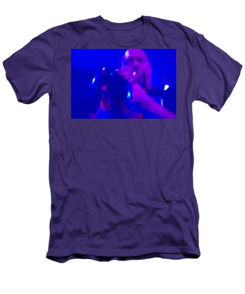 Men's T-Shirt (Slim Fit) featuring the photograph Blue Mood by Alex Lapidus