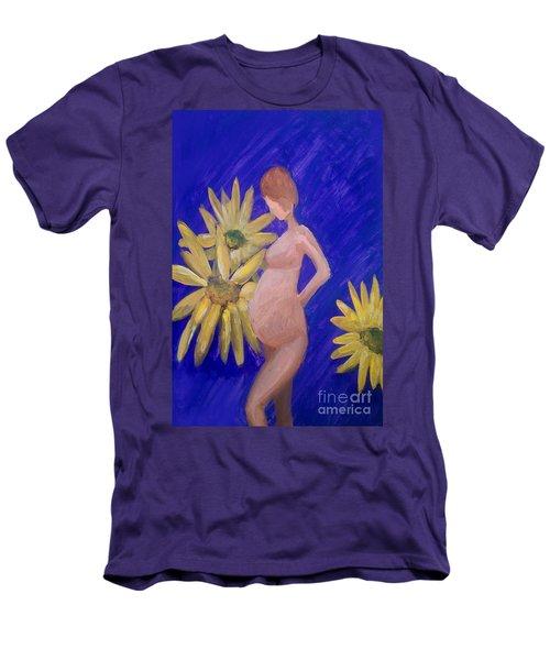 Bringer Of Life Men's T-Shirt (Slim Fit) by Marisela Mungia