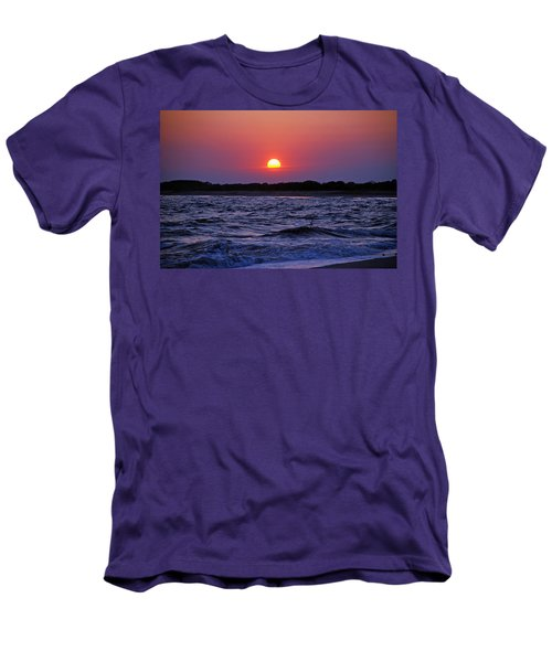 Cape May Sunset Men's T-Shirt (Athletic Fit)