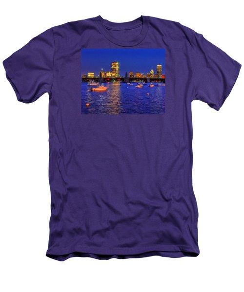 Charles River Basin 013 Men's T-Shirt (Athletic Fit)