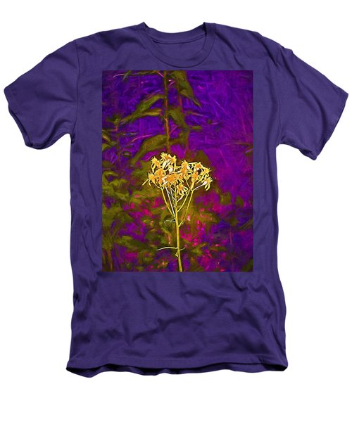 Men's T-Shirt (Slim Fit) featuring the photograph Color 5 by Pamela Cooper