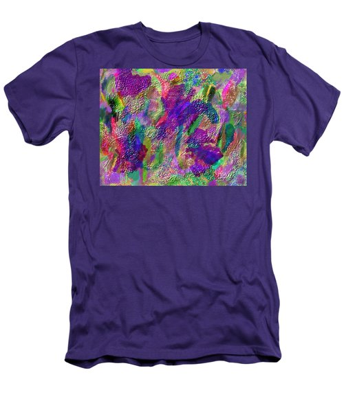 Color Dream Play Men's T-Shirt (Slim Fit) by Penny Lisowski
