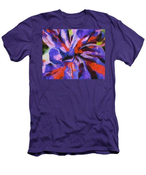 Men's T-Shirt (Slim Fit) featuring the digital art Color My Insecurity by Joe Misrasi