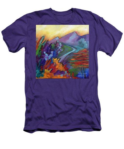 Colordance Men's T-Shirt (Slim Fit) by Elizabeth Fontaine-Barr