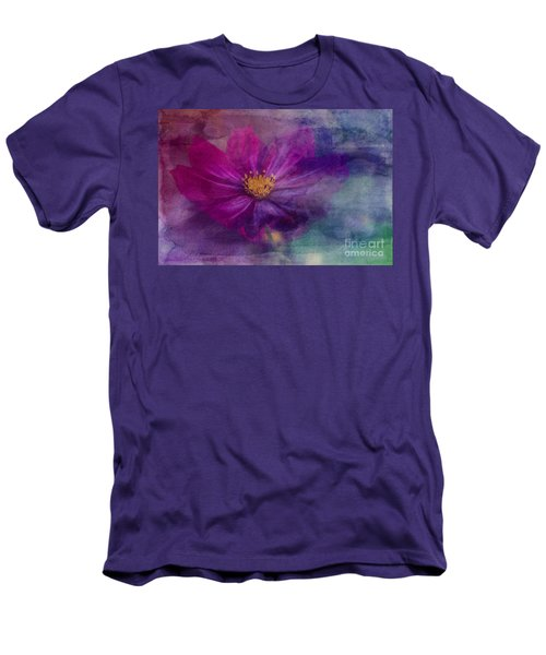 Colorful Cosmos Men's T-Shirt (Athletic Fit)