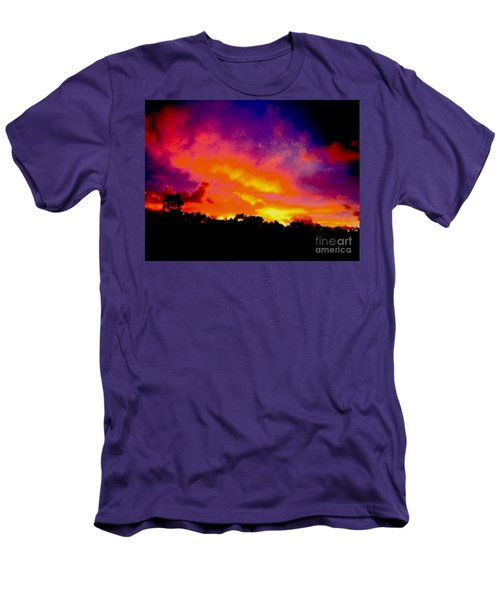 Men's T-Shirt (Slim Fit) featuring the photograph Crystal Sunrise by Mark Blauhoefer