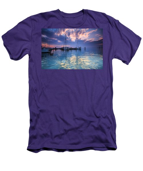 Eastport Sunrise Men's T-Shirt (Athletic Fit)