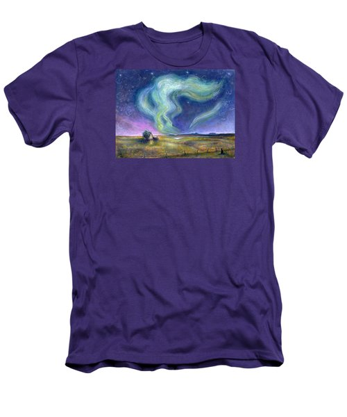 Echoes In The Sky Men's T-Shirt (Slim Fit) by Retta Stephenson