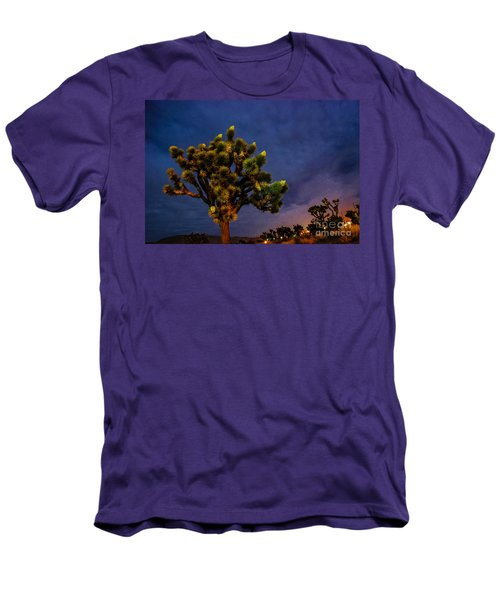 Edge Of Town Men's T-Shirt (Slim Fit) by Angela J Wright