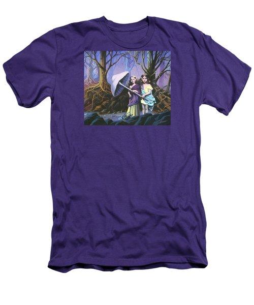 Enchanted Forest Men's T-Shirt (Slim Fit) by Vivien Rhyan