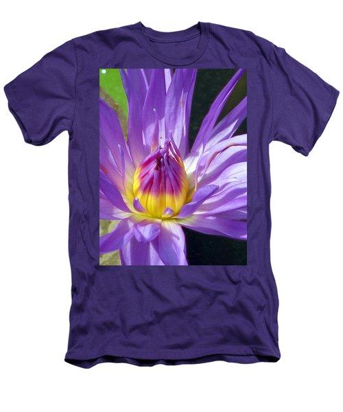 Flower Garden 70 Men's T-Shirt (Slim Fit) by Pamela Critchlow