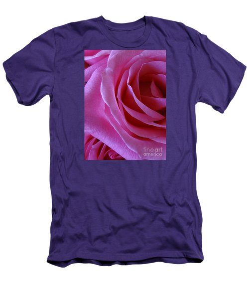 Face Of Roses 2 Men's T-Shirt (Slim Fit) by Gem S Visionary