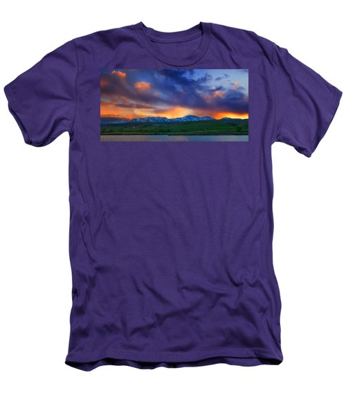 Front Range Light Show Men's T-Shirt (Athletic Fit)
