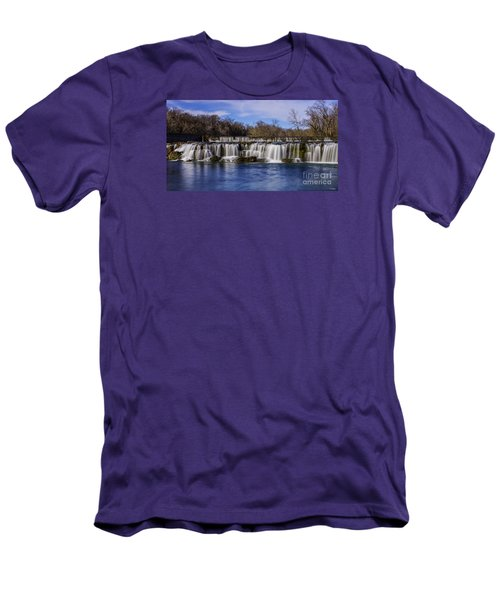 Grand Falls In Joplin Missouri Men's T-Shirt (Athletic Fit)