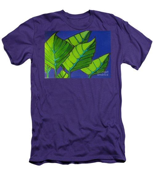Hosta Blue Tip One Men's T-Shirt (Athletic Fit)