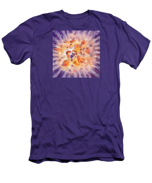Illumination Men's T-Shirt (Slim Fit) by Lynda Hoffman-Snodgrass