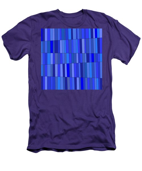 In Blue Please Men's T-Shirt (Slim Fit)