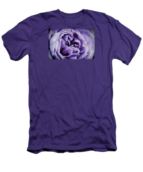 Lavender Motive Men's T-Shirt (Athletic Fit)