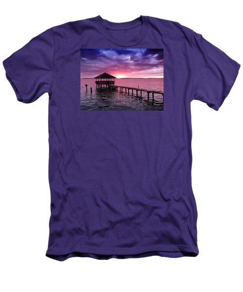 Into The Horizon Men's T-Shirt (Slim Fit) by Rebecca Davis