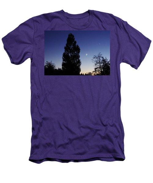 Julian Night Sky 2013 A Men's T-Shirt (Athletic Fit)