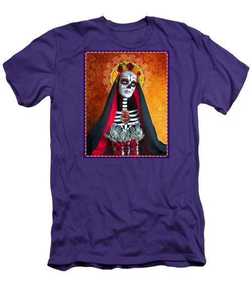 Men's T-Shirt (Slim Fit) featuring the photograph La Muerte by Tammy Wetzel