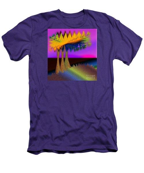 Land Escape Men's T-Shirt (Athletic Fit)