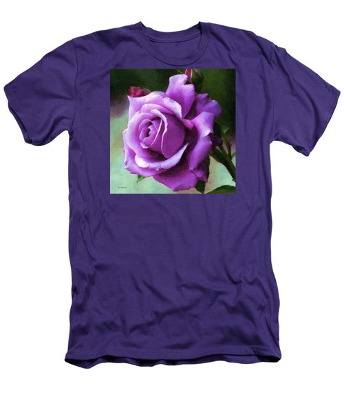 Lavender Lady Men's T-Shirt (Athletic Fit)