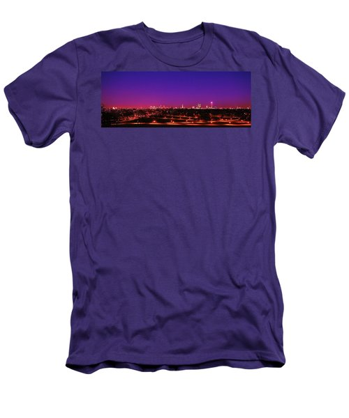 London View 1 Men's T-Shirt (Slim Fit) by Mariusz Czajkowski