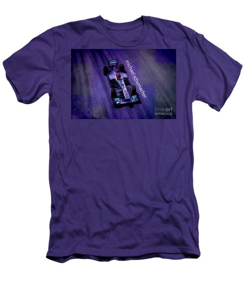 Michael Schumacher Men's T-Shirt (Athletic Fit)