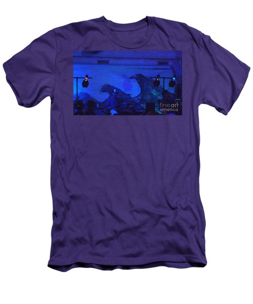 New Riders Of The Purple Sage 5 Men's T-Shirt (Slim Fit) by Kelly Awad