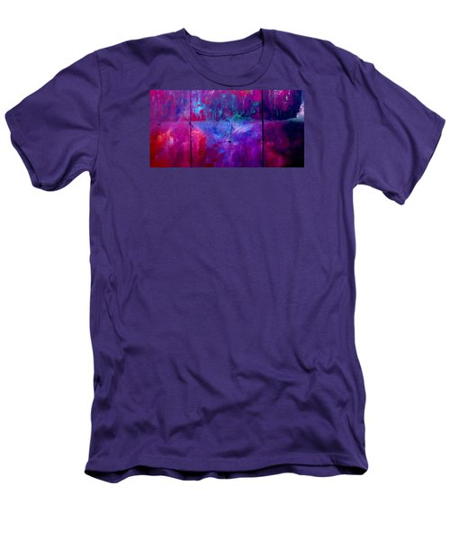Night Falls Upon Men's T-Shirt (Slim Fit) by Lisa Kaiser
