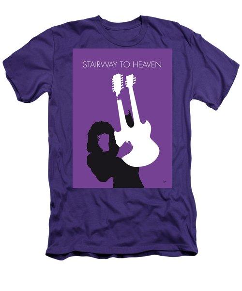 No011 My Led Zeppelin Minimal Music Poster Men's T-Shirt (Slim Fit) by Chungkong Art