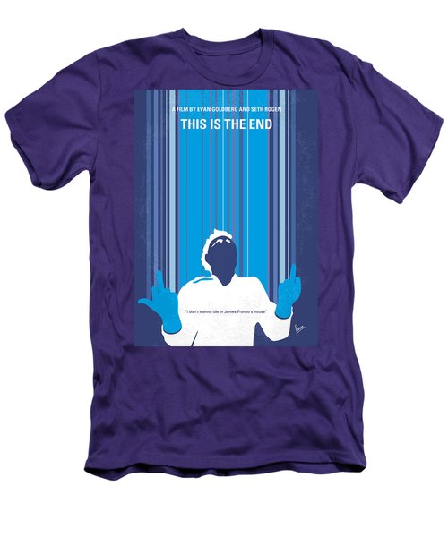 No220 My This Is The End Minimal Movie Poster Men's T-Shirt (Athletic Fit)