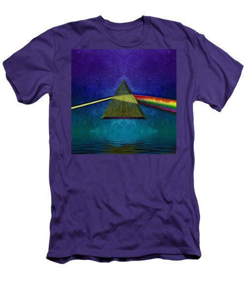 Men's T-Shirt (Slim Fit) featuring the digital art Not So Dark Side 2 by WB Johnston
