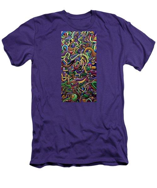 Party Life 2 Men's T-Shirt (Athletic Fit)