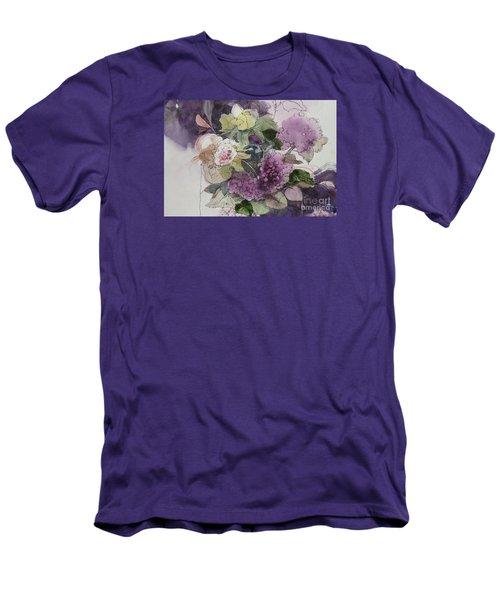 Passionate About Purple Men's T-Shirt (Athletic Fit)