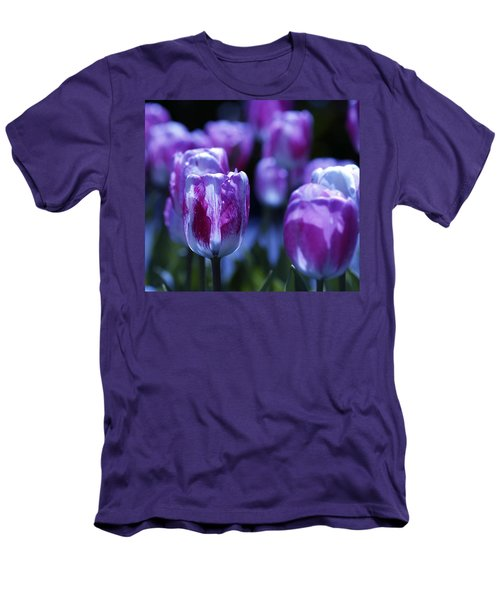Men's T-Shirt (Slim Fit) featuring the photograph Peppermint Candies by Joe Schofield